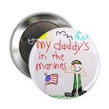 """Marine Daddy 2.25"""" Button (100 pack)"""