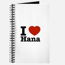 I love Hana Journal