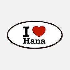I love Hana Patches