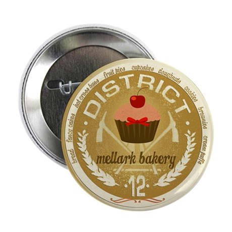 "Antique Mellark Bakery Seal 2.25"" Button (10 pack)"