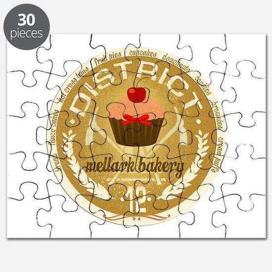 Antique Mellark Bakery Seal Puzzle