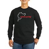 Auto racing Long Sleeve T-shirts (Dark)
