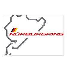 Nordschleife racing circuit Postcards (Package of
