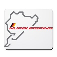 Nordschleife racing circuit Mousepad