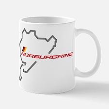 Nordschleife racing circuit Mug