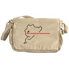 Nordschleife racing circuit Messenger Bag