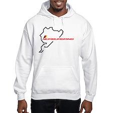 Nordschleife racing circuit Jumper Hoody