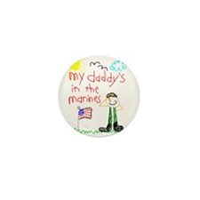 """Marine Daddy"" Series Mini Button (10 pack)"