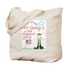 National Guard Daddy Tote Bag