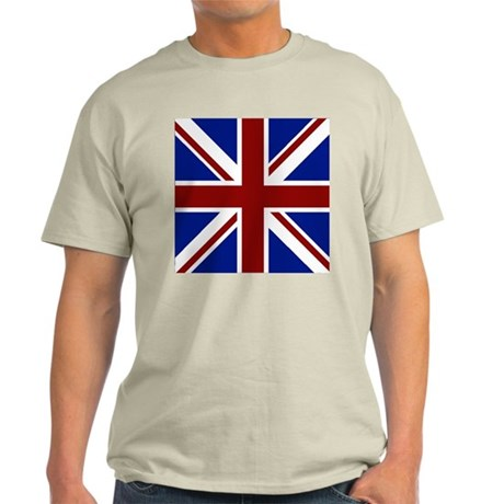 union jack square T-Shirt