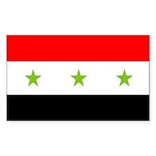 Iraq Rectangle Bumper Stickers