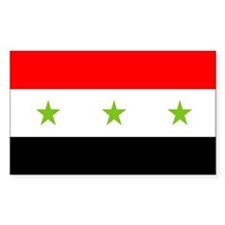 Iraq Rectangle Decal
