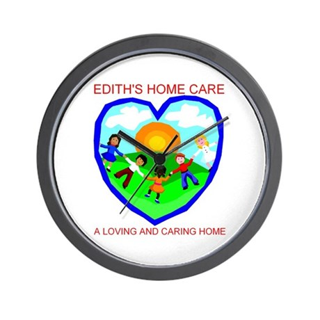 Edith's Home Care Wall Clock