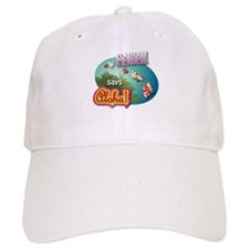 Hawaii says Aloha! Baseball Cap