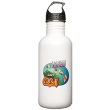 Hawaii says Aloha! Water Bottle