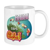 Waikiki Small Mugs (11 oz)