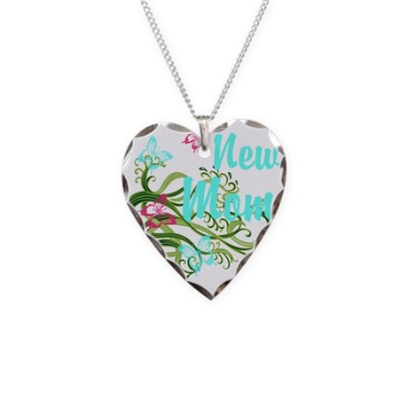 New Mom Necklace Charm