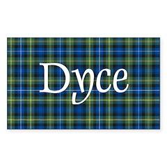 Tartan - Dyce Decal