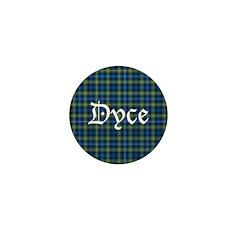 Tartan - Dyce Mini Button (100 pack)