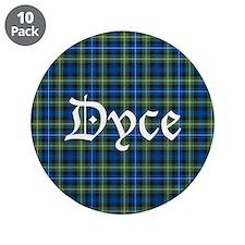 """Tartan - Dyce 3.5"""" Button (10 pack)"""