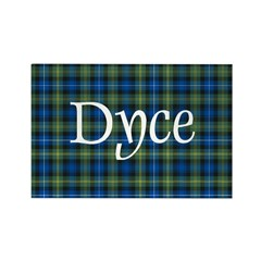 Tartan - Dyce Rectangle Magnet