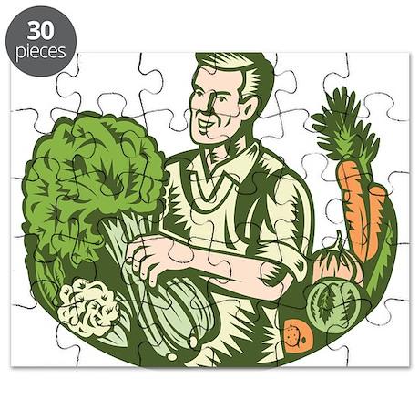 Organic Farmer Puzzle