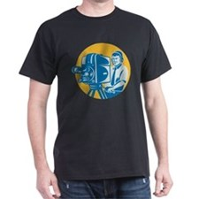 TV Cameraman retro T-Shirt