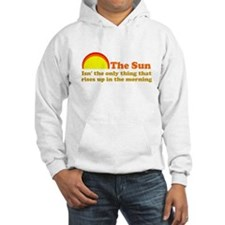 The Sun Rises Up In AM Hoodie