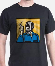 welder retro T-Shirt