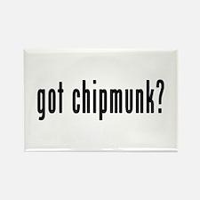 GOT CHIPMUNK Rectangle Magnet