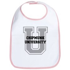 Chipmunk UNIVERSITY Bib