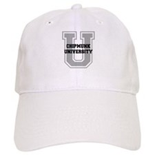 Chipmunk UNIVERSITY Baseball Cap