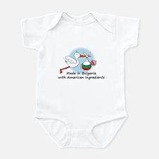 Stork Baby Bulgaria USA 2 Infant Bodysuit