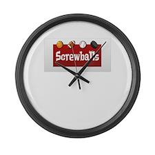 Logo Gear Large Wall Clock