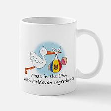 Stork Baby Moldova USA Mug