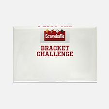 Lost the Bracket Challenge Rectangle Magnet