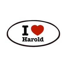 I love Harold Patches