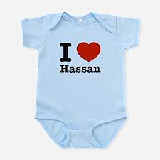 I love Hassan Infant Bodysuit