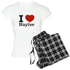 I love Haylee Pajamas