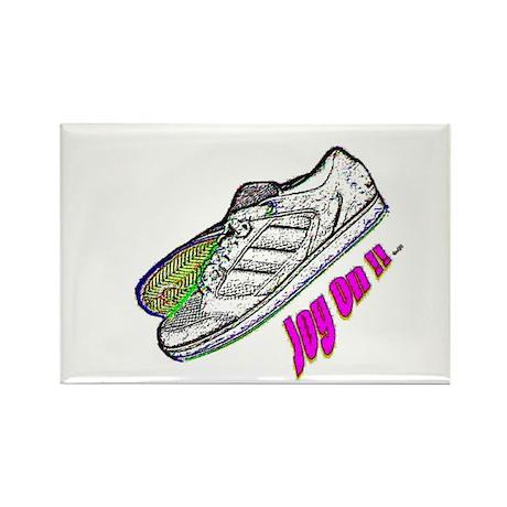 jog on Rectangle Magnet (10 pack)
