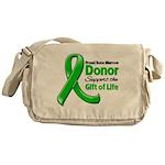Proud BMT Donor Messenger Bag