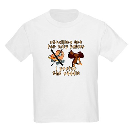 Prefer the Saddle design Kids T-Shirt