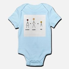Biracial Pride/ Interracial Pride Infant Creeper