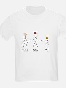 Biracial Pride/ Interracial Pride Kids T-Shirt