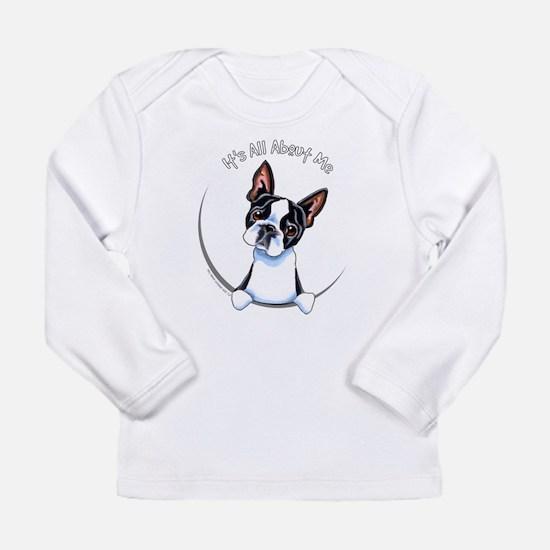 Boston Terrier IAAM Full Long Sleeve Infant T-Shir