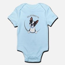 Boston Terrier IAAM Full Onesie
