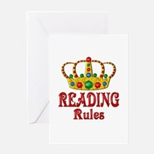 READING Rules Greeting Card