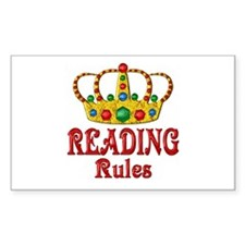 READING Rules Decal