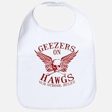 Geezers on Hawgs Bib