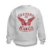 Geezers on Hawgs Sweatshirt